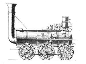 hackworth s royal george 1827 british railway locomotives