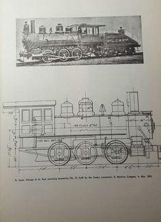 train steam locomotive diagram 0 6 0 switching no 15 art