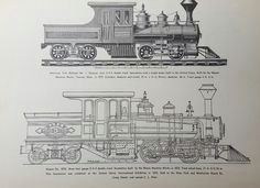 train railroad steam locomotive diagram 0 6 0 switching no 218 art print drawing