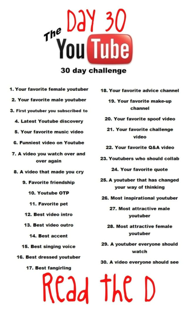 30 day youtube challenge by fashion4life11 a liked on polyvore