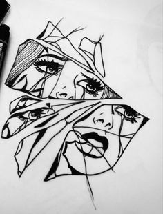 im jus a shattered reflection of the woman i used to be trying to find every last piece to fix myself alice may a drawing ideas