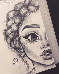 1001 idees pour realiser un dessin swag hommage a la fille swag
