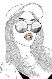 resultado de imagem para imagens de pessoas tumblr desenhos