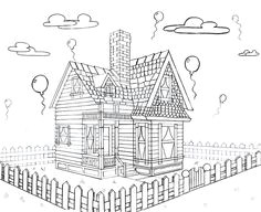 disney house from up 2 point perspective by keira jade deviantart com on