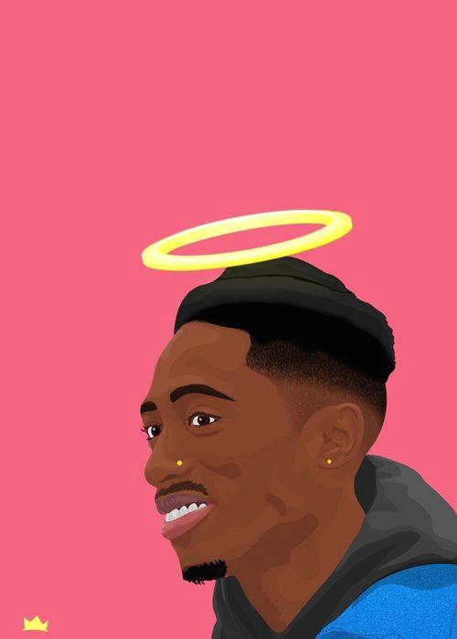 and tupac image