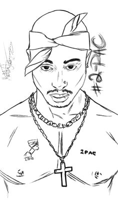 2 pac shakur legend hiphopgod oldschool tattoo sketches drawing sketches