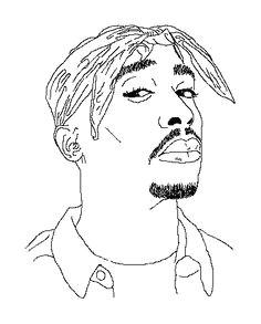 2pac cute art african art staple design art inspo hip hop