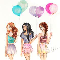 balloon love drawings girly drawings best friend drawings tumblr drawings beautiful drawings