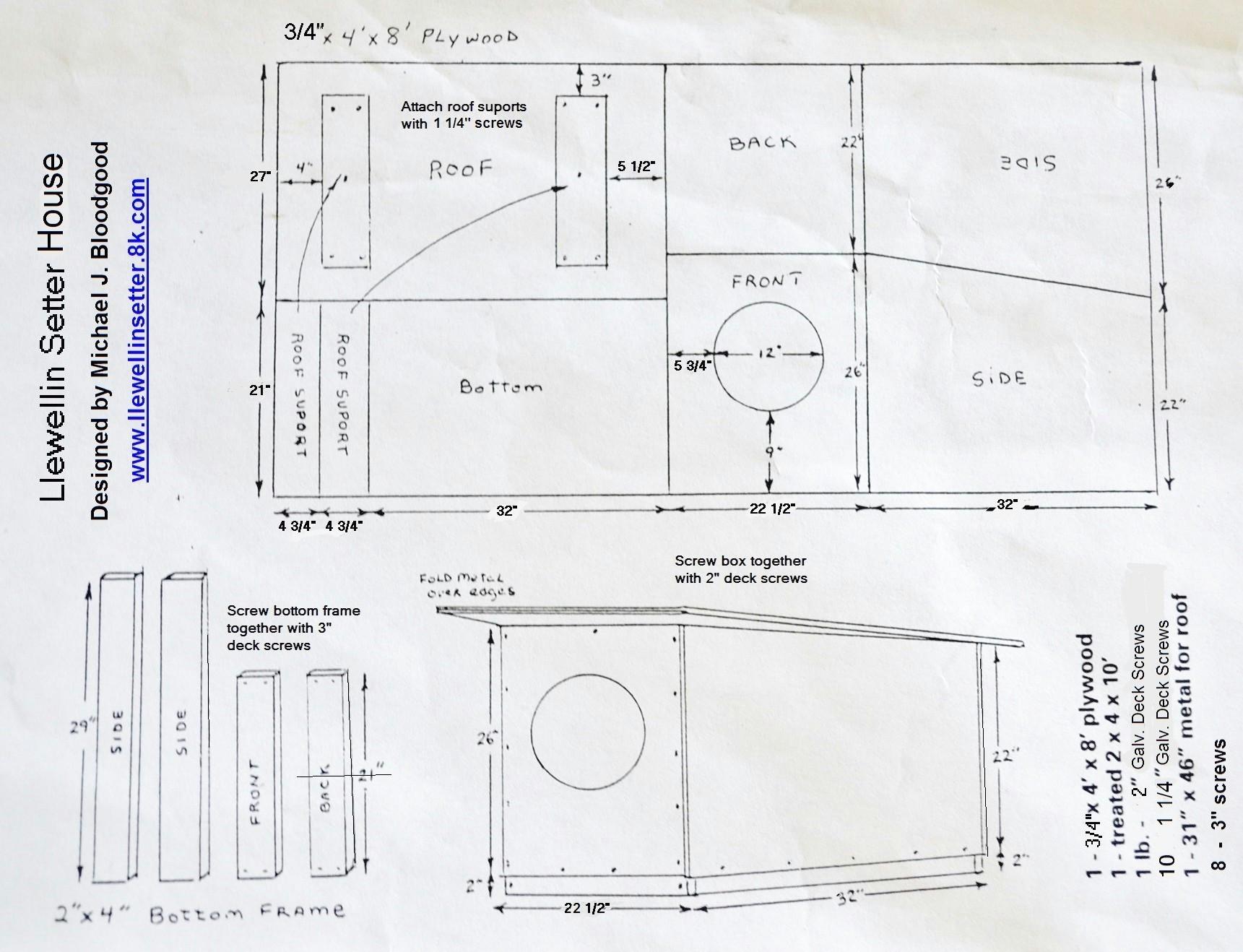 plans for a dog house elegant x dog house plans lovely 0d 8064 48af b953 e52dae