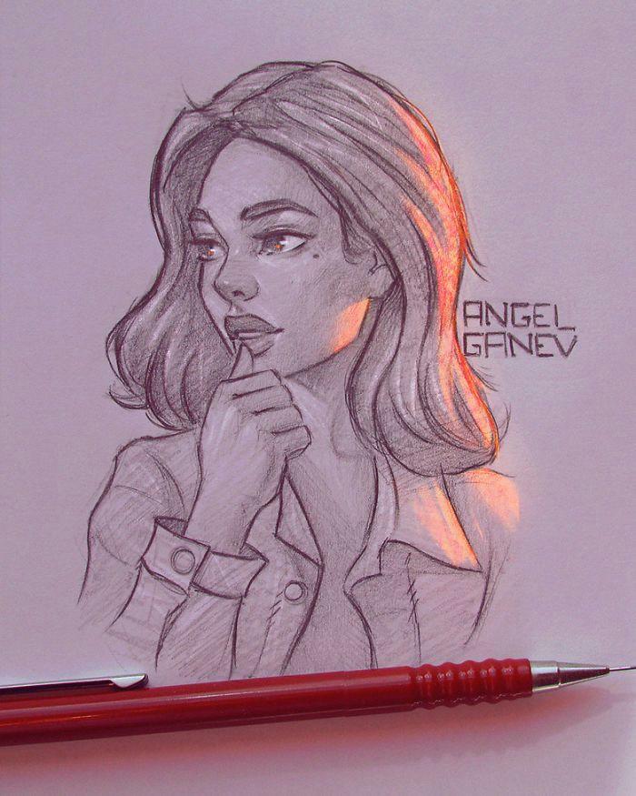 artista baolgaro faz incra veis ilustraa aµes brilhantes mundo ms drawing pinterest drawings art sketches and art drawings