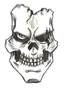 assassin skull drawings bing images