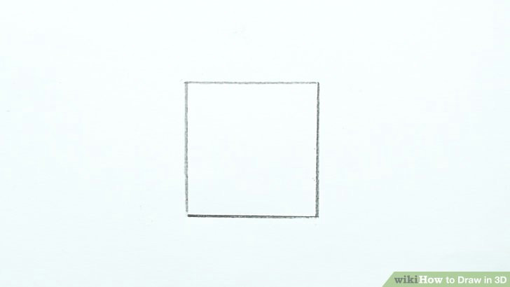 image titled draw in 3d step 1