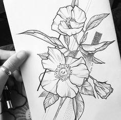 el dibujaba flores solo para mi flower sketch images flower sketches tasteful tattoos