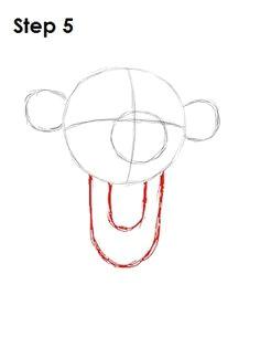 draw tigger step 5 disney drawings cartoon drawings step by step drawing tigger