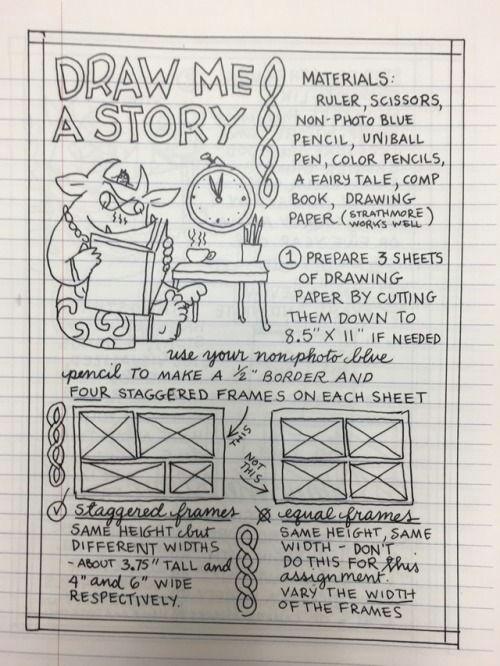 5 Drawing Materials Draw Me A Story Comics Pinterest Comics and Drawings