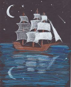 creator s joy ship at night drawing lesson drawing lessons sculpture clay teaching art