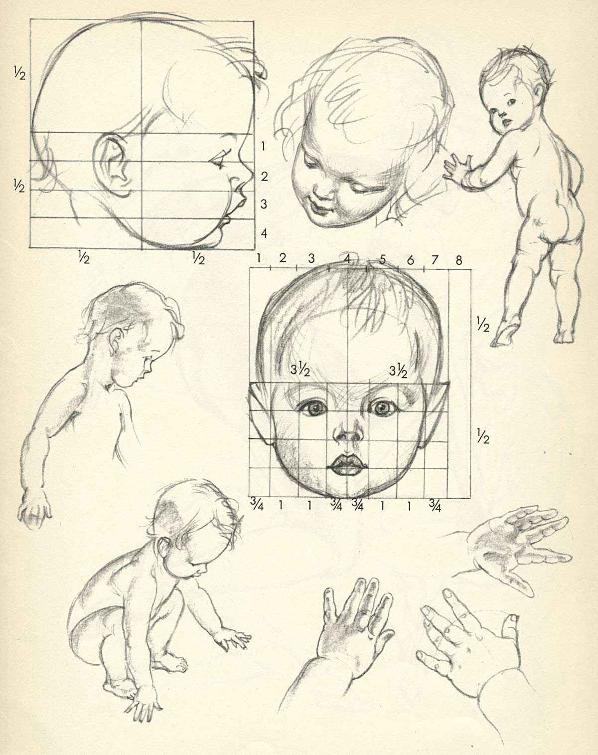 pogany s drawing lessons drawing baby enfant toddler