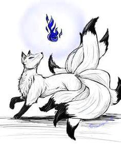 deviantart more like nine tailed fox spirit by lyystra