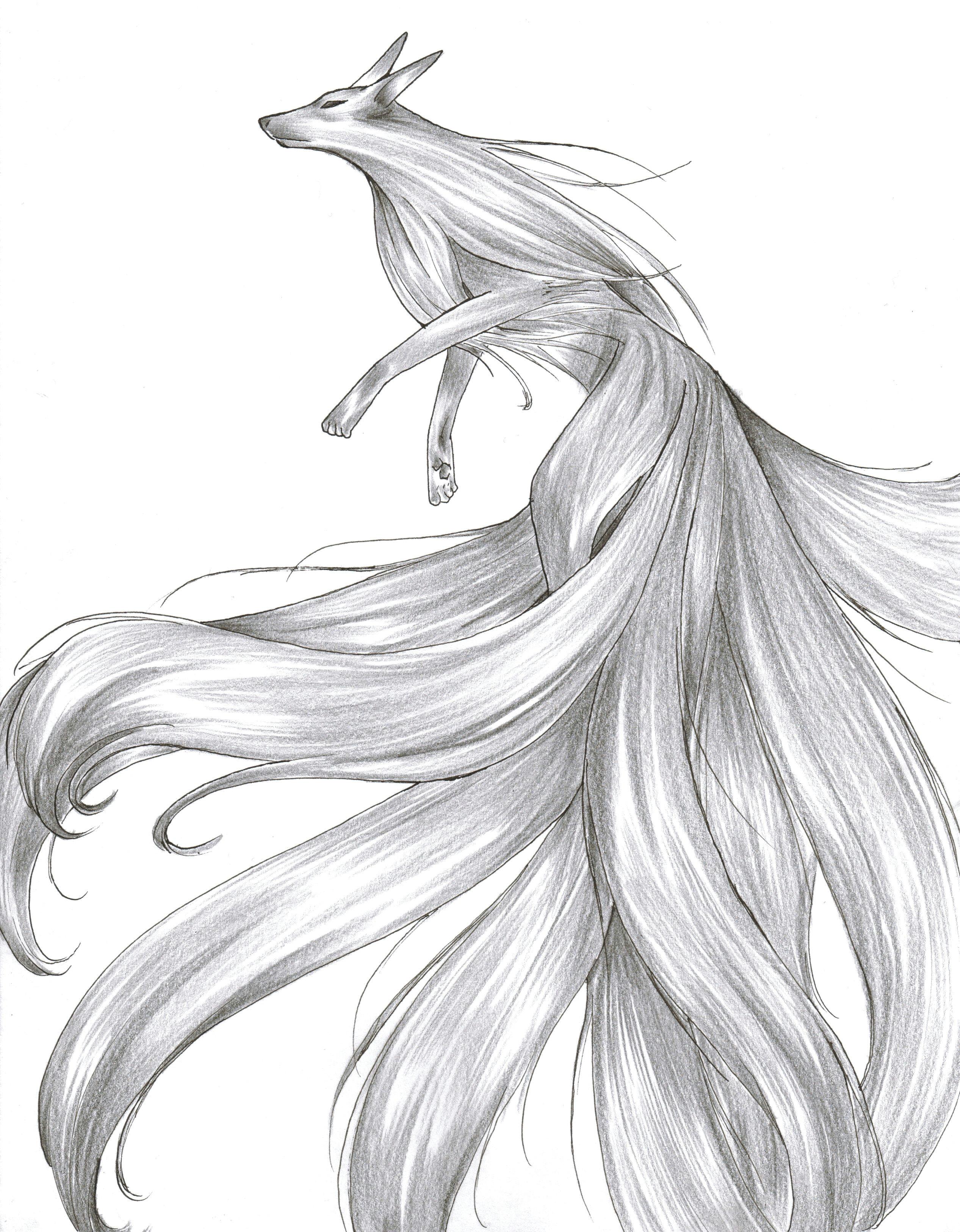kitsune by kagemaru tsukiyo deviantart com on deviantart