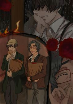 avilio and corteo 91 days 91 days i love anime otaku fandoms