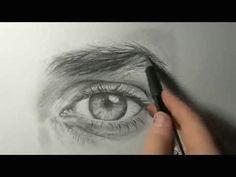 akiane drawing an eye demo 1