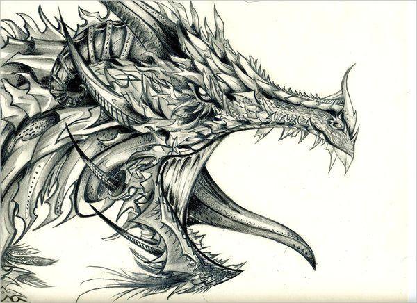 cool dragon drawings dragon head drawing dragon art dragon sketch fantasy dragon