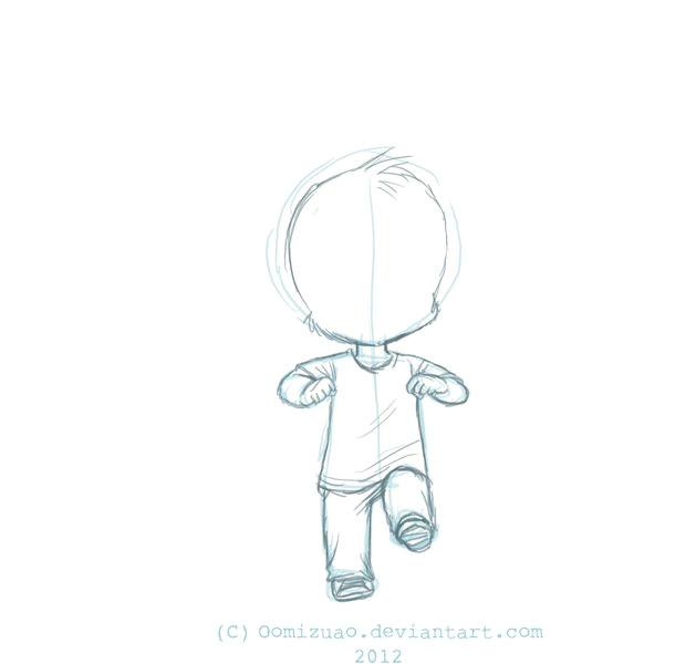 shufflin sam rough sketch animation by oomizuao gif