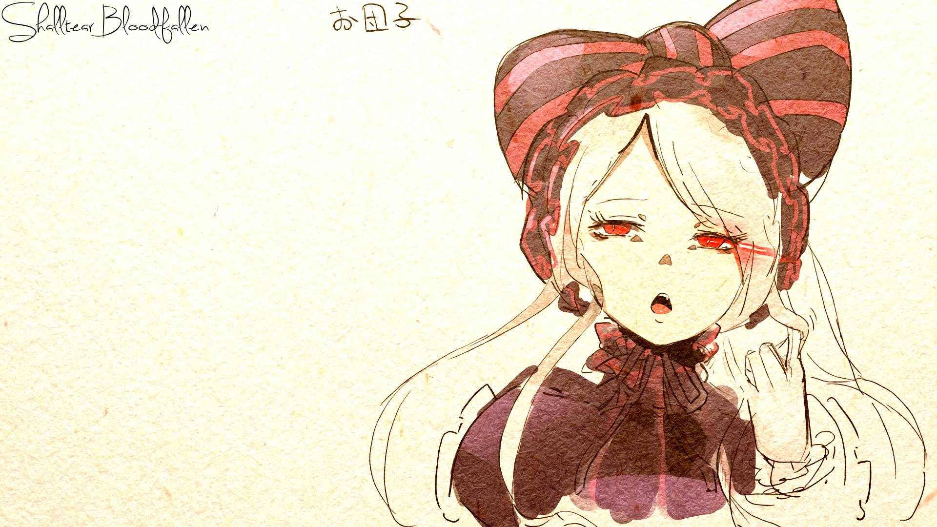 Anime Drawing 1920×1080 Overlord Ii Monster Hd Desktop Wallpaper Widescreen High Anime