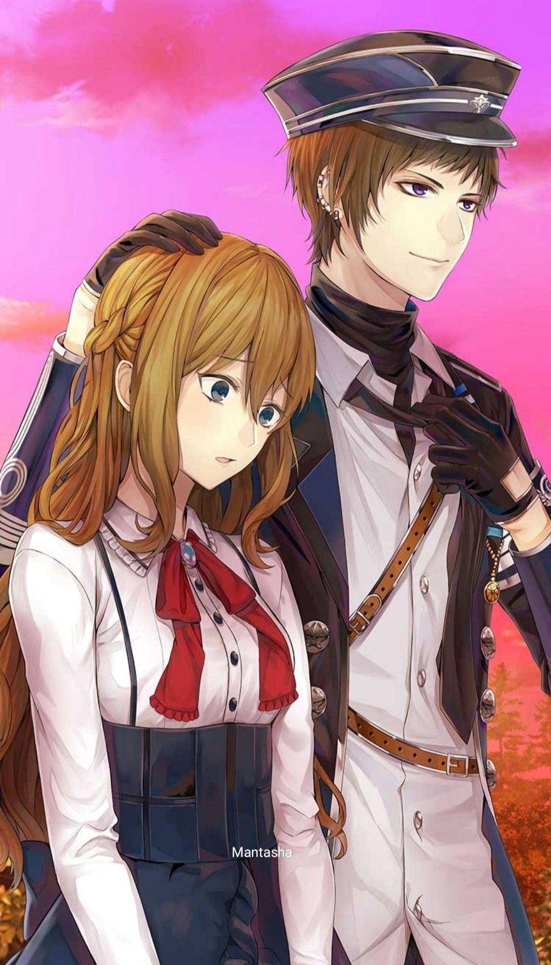 ikemen revolution anime couple anime boy anime girl cybird otome game novel