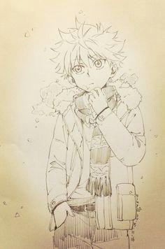 furiikusu official art by niuya zeichnen hisoka hunter x hunter manga