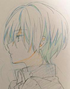 a a a a a a on anime boy sketchanime