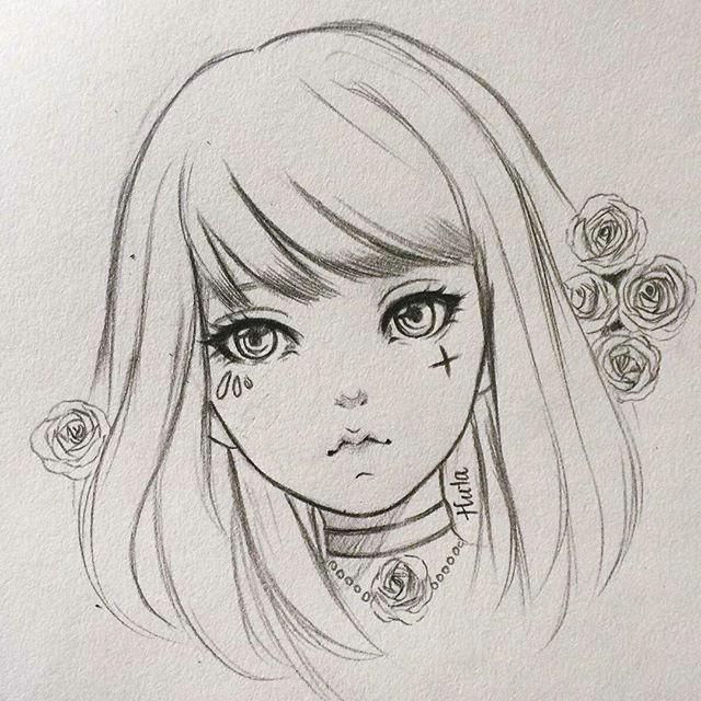 90k followers omg i could hardly believe my eyes thanks everybody anime manga artwork art fanart draw drawing pencil