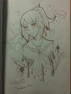 how to draw manga and anime yandere simulatormanga
