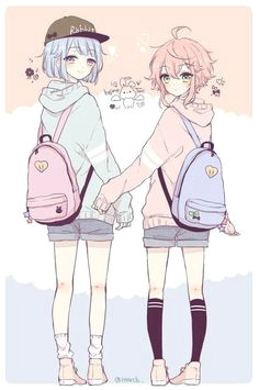 metadinhas a 8 wattpad anime blue hair anime girl pink pretty