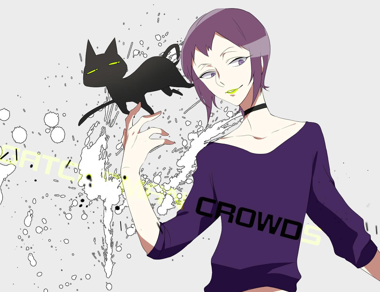 Anime Drawing Zerochan O D Gatchaman Crowds Zerochan Anime Image Board