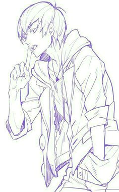 anime boy cool hoodie jacket anime guys anime lineart boys hoodies