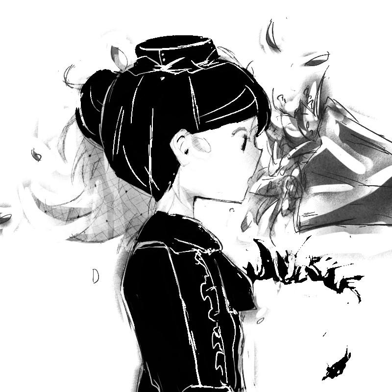a a a a 6 avogado6 twitter anime sketch manga art anime art