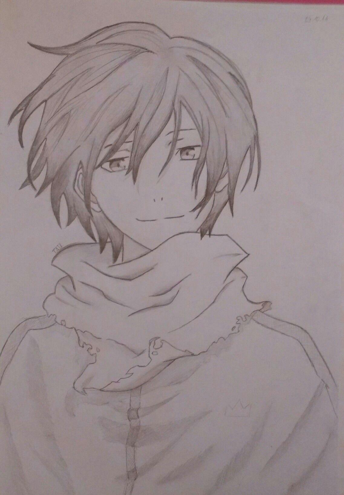 Anime Yato Drawing Yato noragami Drawings Pinterest Drawings Art Drawings and Art
