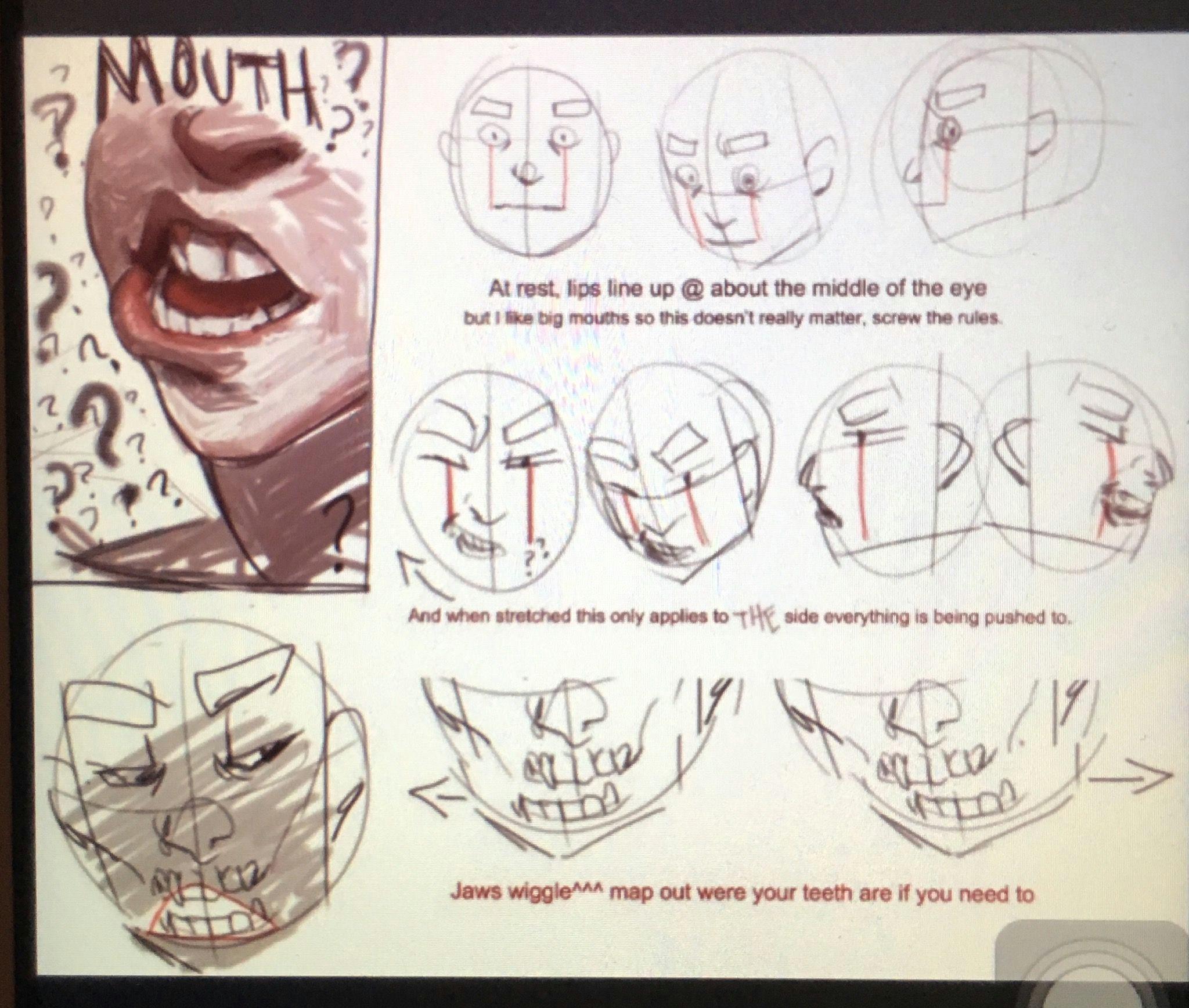b mouth drawing drawing skills drawing tips drawing stuff drawing journal