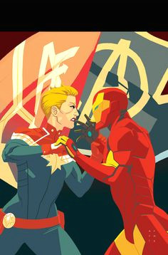 captain marvel ruth gage w chris gage w kris anka a c civil war ii tie in the final showdown between carol and tony s forces