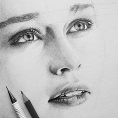 pencil drawings pencil art portraits sketch instagram body drawing drawing stuff