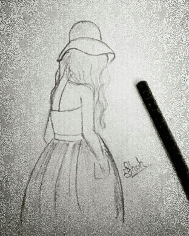 Bahubali 2 Easy Drawings Lonely Girl Drawing My Drawings A In 2019 Drawings My Drawings
