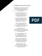 ballad of a mother s heart verse choir piece