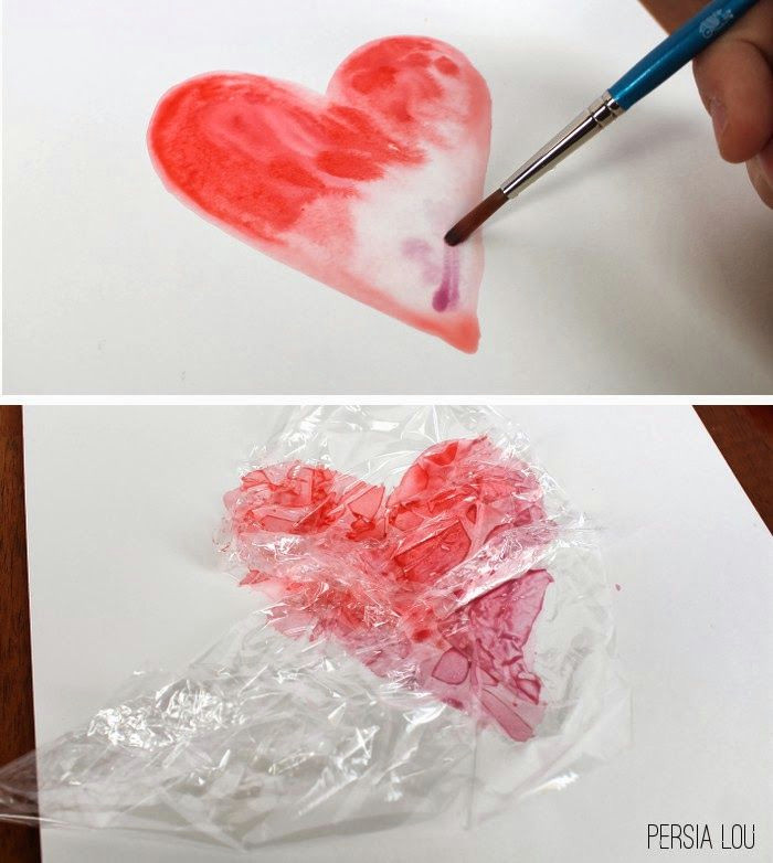 eighteen25 simple watercolor hearts