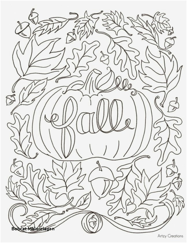 bobcat malvorlagen best printables for kids unique fall coloring pages 0d page for kids