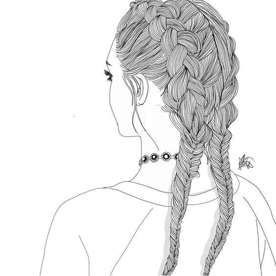 resultat d imatges de tumblr dibujos girl drawings tumblr outline drawings tumblr girl