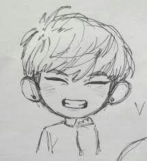 cute drawings kpop drawings drawing sketches sketching bts fans bts chibi