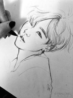 kao t quao ha nh ao nh cho suga fanart bts drawings bts fans yoongi bts