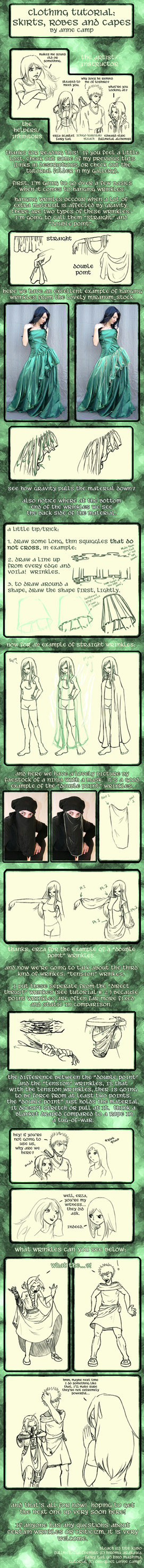 clothing tut 3 hanging wrinkle by obi quiet on deviantart a character