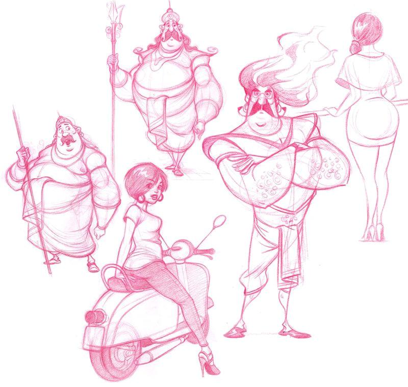 dattaraj kamat animation art sketch inspirationart sketchesart 3dillustration artconcept artcharacter